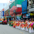 Thai Chinese Monks parade. — ストック写真