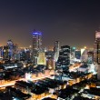 Bangkok City Night, Thailand. — Stock Photo