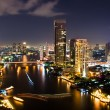 Bangkok City Night, Thailand. — Stock Photo #14143972
