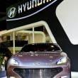The Hyundai car — Stock Photo