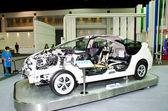 Toyota Prius Hybrid car — Stock Photo
