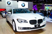 BMW 740Li car — Stock Photo