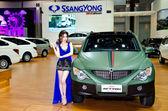 Ssanyong Actyon car — Stock Photo