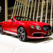 Stock Photo: New Continental GT V8car