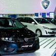 Stock Photo: Proton car