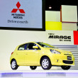Stock Photo: Mitsubishi Mirage car