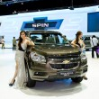 Chevrolet Trailblazer car with unidentified model — ストック写真 #16344527
