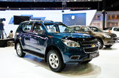 The Chevrolet Trailblazer car — Stock Photo