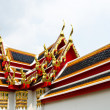 Roof of Buddhist temple. — Stock Photo #17600485