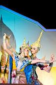 "Thailand Dancing art called ""Khon"" — Stock Photo"