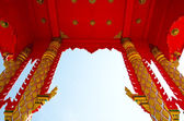 Igreja budista — Fotografia Stock
