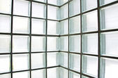 Glass Block Wall — Foto de Stock