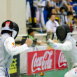 Asian Junior & Cadet Fencing Championships 2013 — Stock Photo