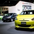 The Mitsubishi Mirage car — Stock Photo
