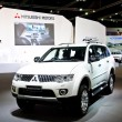 Stock Photo: Mitsubishi Pajero Sport car