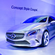 The 2012 Mercedes-Benz Style Coupe Concept car — Stock Photo