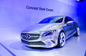 The 2012 Mercedes-Benz Style Coupe Concept car — Stock Photo