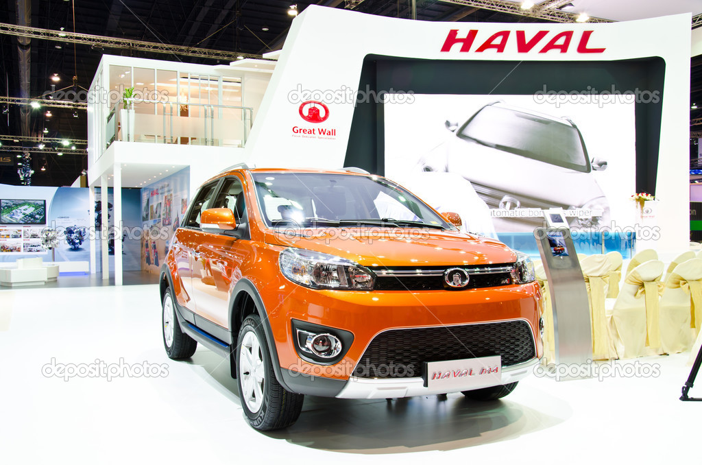 Bangkok march 26 the haval m 4 car on display at 34th bangkok