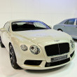 The Bentley Continental GT V8 car - Stock Photo