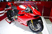 The Ducati 1199 Panigale R motorcycle — Stock Photo