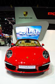 The Porsche 911 carrera s cabriolet car — 图库照片