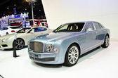 The Bentley Mulsanne car — Stock Photo