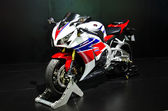 The Honda CBR 1000 RR motorcycle — Stock Photo