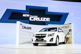 The Chevrolet Cruze car — Stock Photo