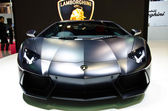 The Lamborghini Tron Supercars Aventador car — 图库照片