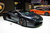 The Lamborghini Tron Supercars Aventador car — Stock Photo