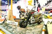 Honda zoommer super advanture motorcykeln — Stockfoto