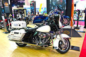 The Harley-Davidson Police FTHTP Electra Glide motorcycle — Stock Photo