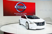 The Nissan Ellure Concept car — Stock Photo