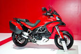 The 2013 Ducati Multistrada Models First Look motorcycle — Stock Photo