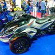 The Can-Am Spyder RS - Stock Photo