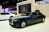 The perfect Rolls-Royce Ghost Extended Wheelbase car — Stock Photo