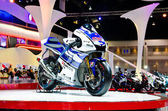 The Yamaha M1 VZR motorcycle — Foto Stock