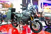 The Yamaha XT1200Z Super Tenere motorcycle — Stock Photo
