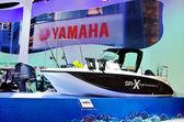Yamaha yamaha sr-stil revolutionen - x hastighet båt — Stockfoto