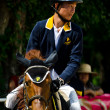 Equestrian sport. — Stock Photo