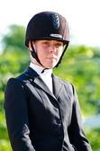 Equestrian sport. — Stock Photo