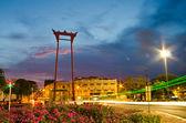 Sao Chingcha landmark of Bangkok — Stock Photo