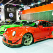 Stock Photo: Bangkok International Auto Salon 2013