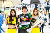 Thailand Super Series 2013 Race 4 — Stock Photo
