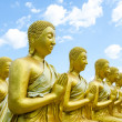 Buddha sculpture — Stock Photo