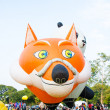 Stock Photo: Thailand International Balloon Festival 2013