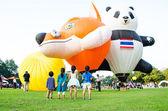 Thailand International Balloon Festival 2013 — Stock Photo