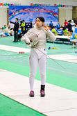 Fencing competition — Stock Photo