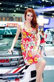 The 35th Bangkok International Motor Show 2014 — Stok fotoğraf