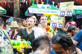 泰国泼水节 — 图库照片